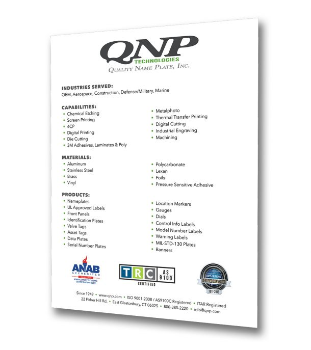 QNP capabilities line card