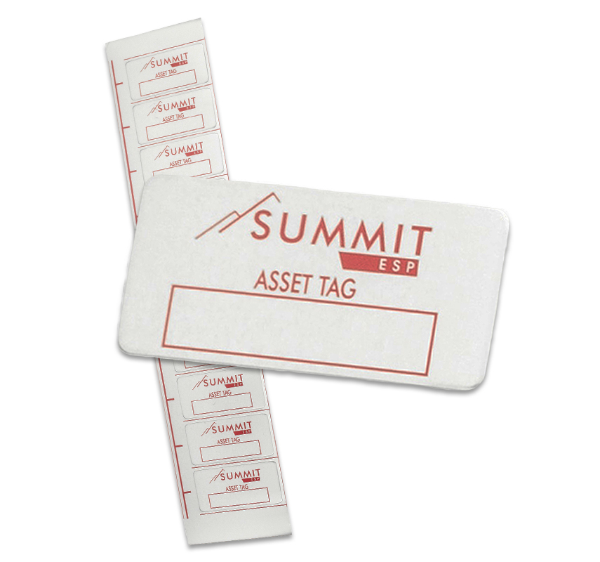QNP produces a variety of different asset tags.