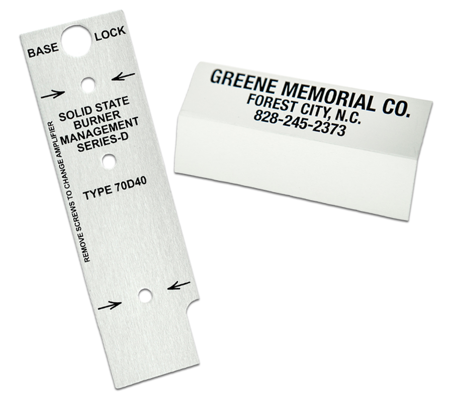 QNP is your source for MIL-SPEC nameplates